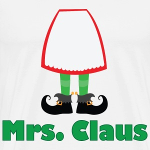 Mrs Claus Christmas T-shirt (Santa Claus) - Men's Premium T-Shirt