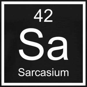 Sa Sarcasium Element - Men's Premium T-Shirt