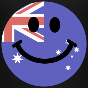 Australian flag smiley face Baby & Toddler Shirts - Toddler Premium T-Shirt