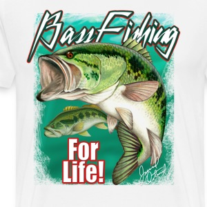 Bass Fishing for life - Men's Premium T-Shirt