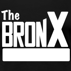 The Bronx Women Black - Women's Premium T-Shirt