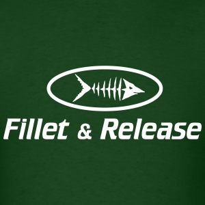 Fillet and Release T-Shirts - Men's T-Shirt