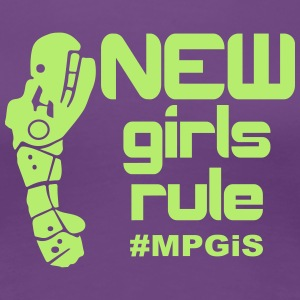 Most Popular Girls New Girls Rule Women's T-Shirts - Women's Premium T-Shirt
