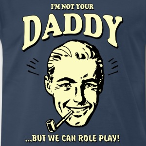Retro humor Daddy - Men's Premium T-Shirt