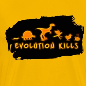 Evolution Kills - Men's Premium T-Shirt