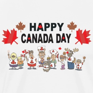 Happy Canada Day T-Shirt - Men's Premium T-Shirt