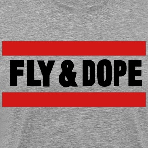 FLY AND DOPE T-Shirts - Men's Premium T-Shirt
