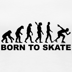 Evolution Speed skating Women's T-Shirts - Women's Premium T-Shirt