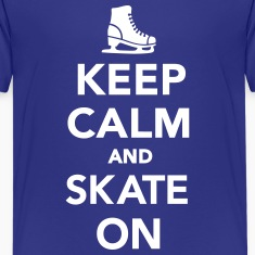Keep calm and Skate on Kids' Shirts