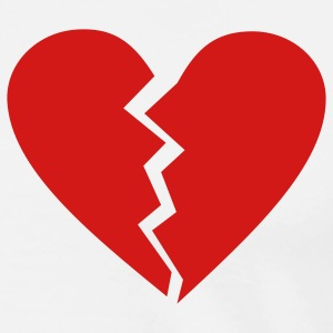 Broken Heart T-Shirts - Men's Premium T-Shirt