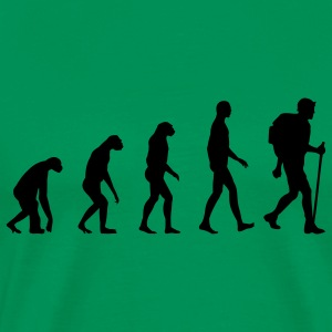 Evolution Hiking T-Shirts - Men's Premium T-Shirt