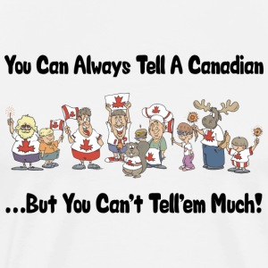 Funny Canadian Canada Day T-Shirt - Men's Premium T-Shirt