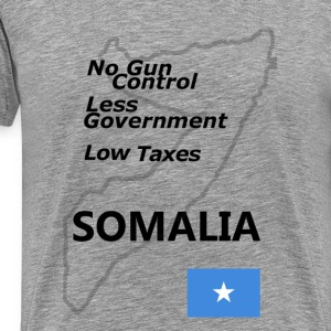 Your New Homeland: Somalia - Men's Premium T-Shirt
