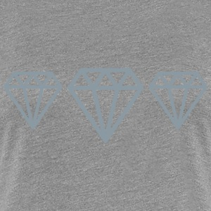 Diamonds Women's T-Shirts - Women's Premium T-Shirt