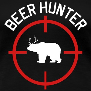 Beer Hunter Women's T-Shirts - Women's Premium T-Shirt