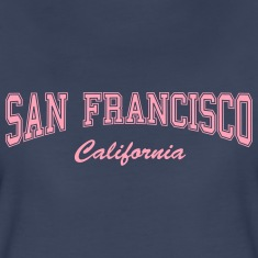 San Francisco California Women's T-Shirts