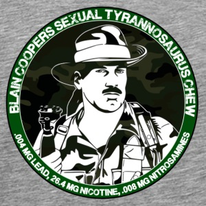 Sexual Tyrannosaurus Chew - Men's Premium T-Shirt