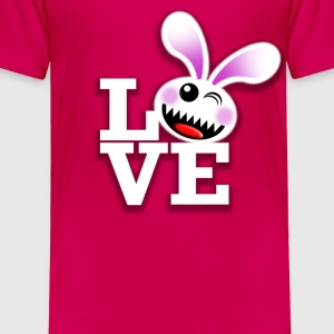 SAVAGE BUNNY LOVE Baby & Toddler Shirts - Toddler Premium T-Shirt