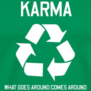 Karma Recycle T-Shirts - Men's Premium T-Shirt