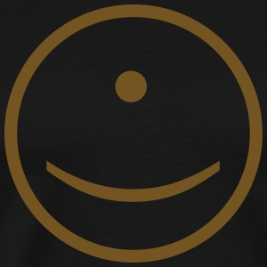 Cyclops Smiley Face - Men's Premium T-Shirt