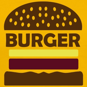 burger T-Shirts - Men's Premium T-Shirt