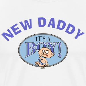 New Daddy T-Shirt - Men's Premium T-Shirt