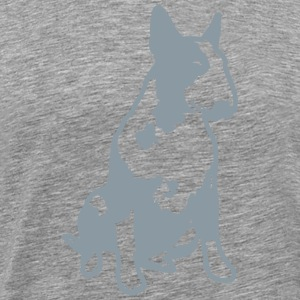 Bull Terrier 2013 1c_4light T-Shirts - Men's Premium T-Shirt