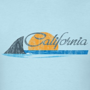 California Shark Fin T-Shirts - Men's T-Shirt