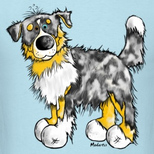 Australian Shepherd – Aussie - Dog T-Shirts - Men's T-Shirt