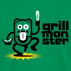 BBQ Grill Monster No.1.1 T-Shirts - Men's Premium T-Shirt