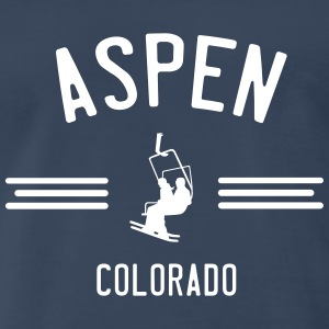 Aspen Colorado T-Shirts - Men's Premium T-Shirt