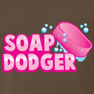 soap dodger with bar of soap T-Shirts - Men's Premium T-Shirt