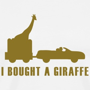 i bought a giraffe T-Shirts - Men's Premium T-Shirt