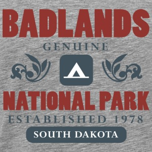 Badlands National Park T-Shirts - Men's Premium T-Shirt