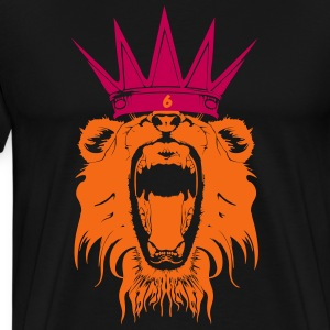 King Lebron James  T-Shirts - Men's Premium T-Shirt