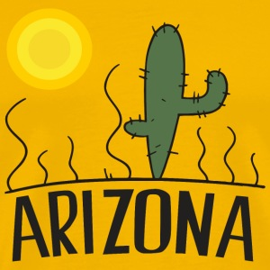 Arizona Cactus T-Shirts - Men's Premium T-Shirt