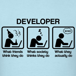 developer - What do you think they do? T-Shirts - Men's T-Shirt
