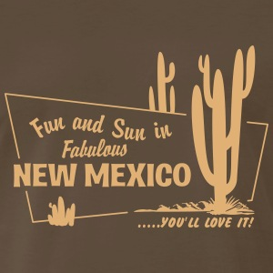 Fun and Sun in Fabulous New Mexico T-Shirts - Men's Premium T-Shirt
