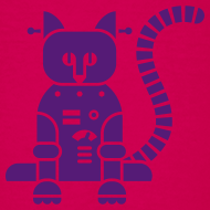 Design ~ Purple Catbot - Kid