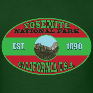 Yosemite National Park T-Shirts - Men's T-Shirt