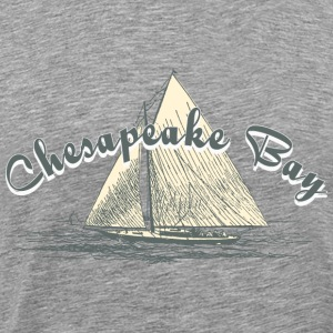 Chesapeake Bay Sailing T-Shirts - Men's Premium T-Shirt