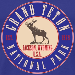 Grand Teton National Park T-Shirts - Men's Premium T-Shirt