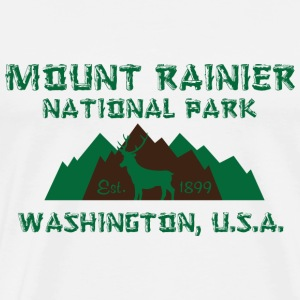 Mount Rainier National Park T-Shirts - Men's Premium T-Shirt