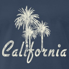 California Palm Trees T-Shirts