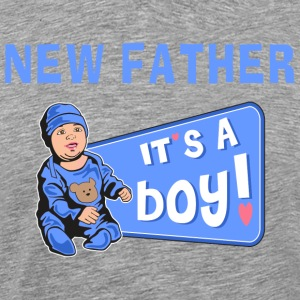 New Father Baby Boy T-Shirt - Men's Premium T-Shirt