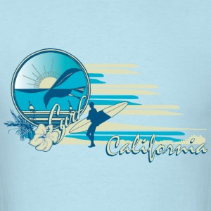 Surf California T-Shirts - Men's T-Shirt