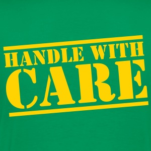HANDLE with CARE in stencil T-Shirts - Men's Premium T-Shirt
