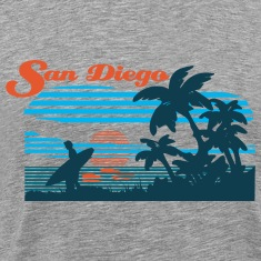 San Diego Beach T-Shirts