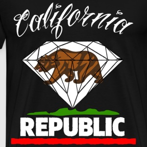 Diamond Republic of California T-Shirts - Men's Premium T-Shirt