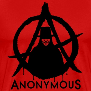 Anonymous Vendetta 1c T-Shirts - Men's Premium T-Shirt